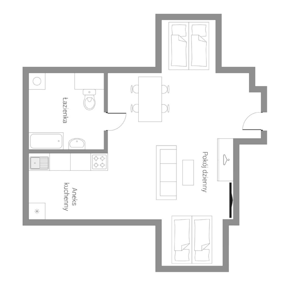 Apartamenty Krynica Górska wynajem